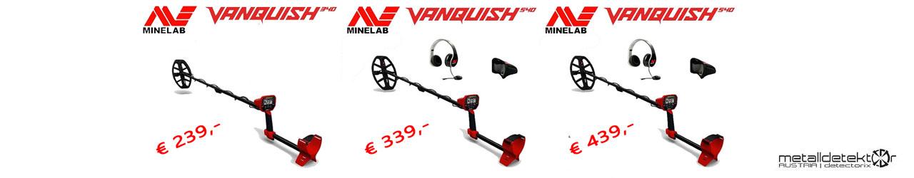 Minelab Vanquish Serie
