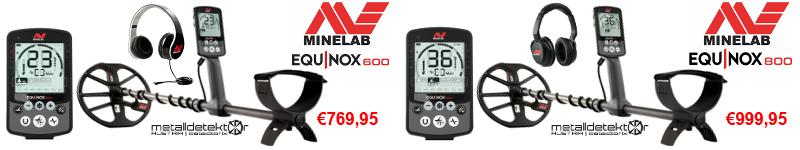 Minelab Equinox 600 & Minelab Equinox 800