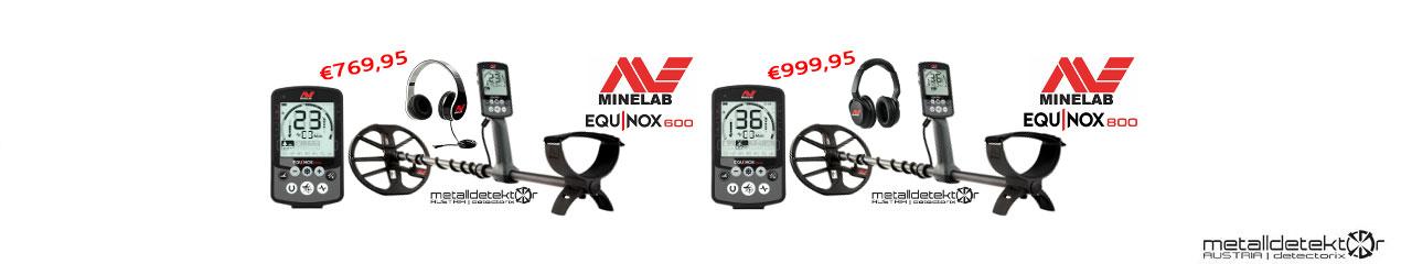 Minelab Equinox Serie