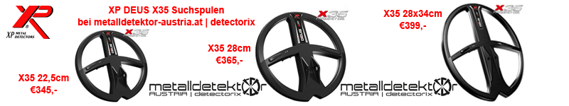 XP DEUS X35 Suchspulen